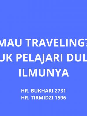 Mau Traveling? Yuk Pelajari dulu Ilmunya