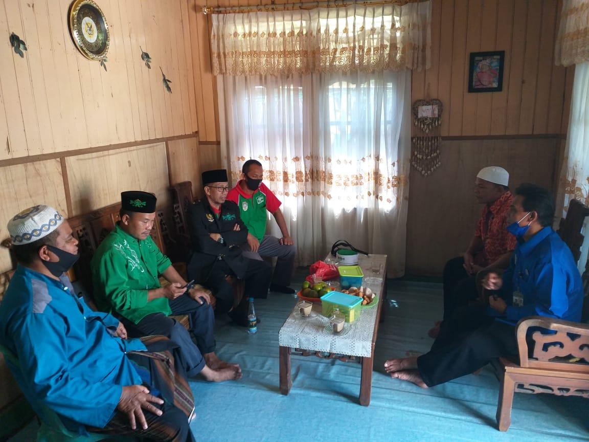 Kunjunga ke MWC NU Kecamatan Mandor