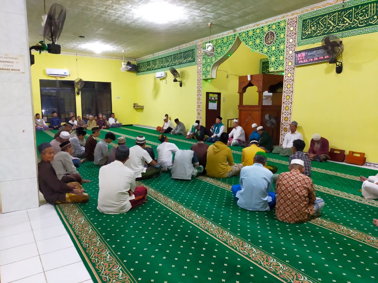 Safari Ramadhan di Masjid Baitul Jam'iyyah Mandor