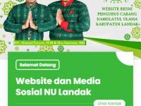 Tampilan Baru Website NU Landak